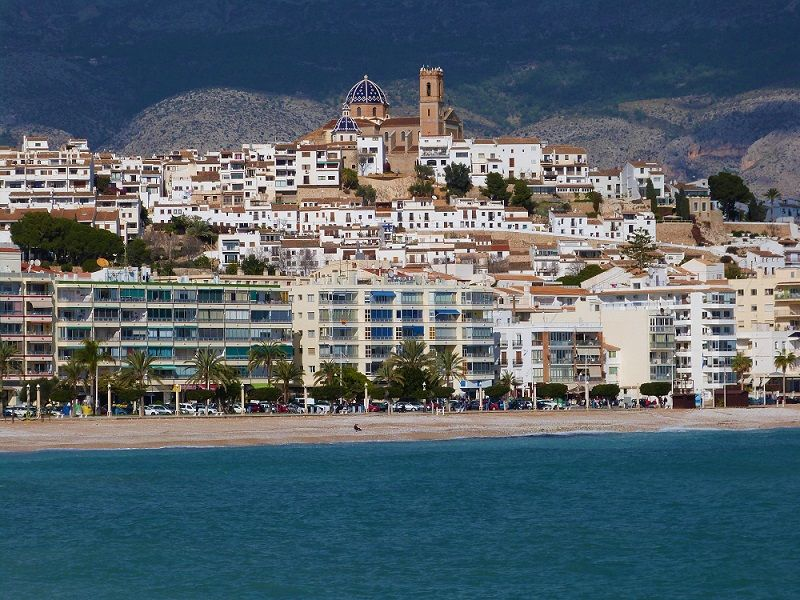 Altea Costa Blanca in Spain