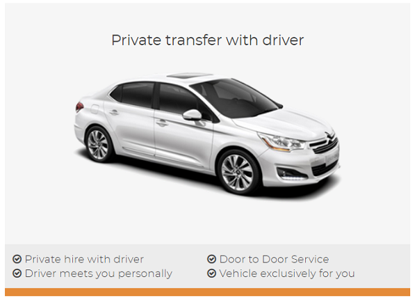 private transfers with shuttledirect