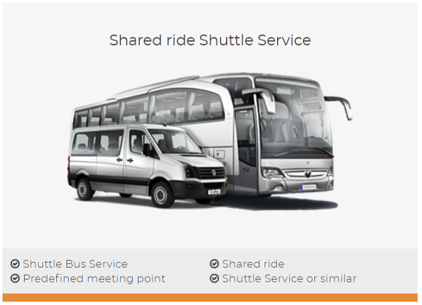 low-cost shuttles with shuttledirect