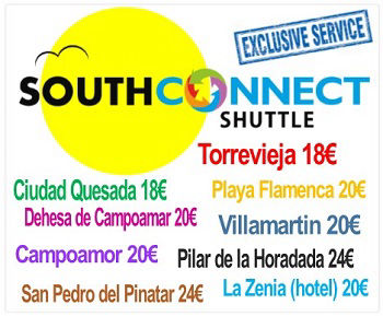 Click to book direct with SOUTH CONNECT to Torrevieja