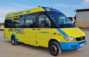 COSTA Connect and EXPRESS Connect Alicante aiport transfers from beniconnect (Grupo Benidorm)